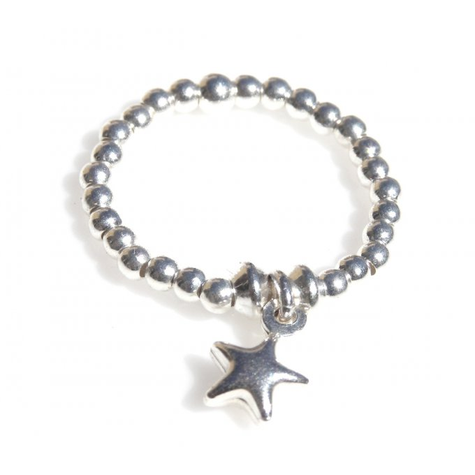 BAGUE STAR BOMBE